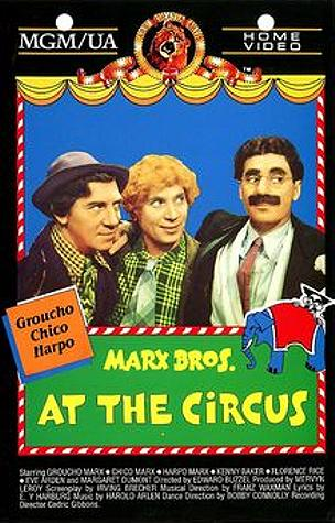 Image result for at the circus 1939 POSTER